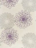 Buy John Lewis Gerbera Wallpaper, Cassis online at John Lewis