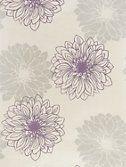 Buy John Lewis Gerbera Wallpaper, Cassis online at John Lewis