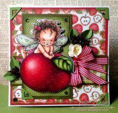 Vili's Art: Феята на ябълките#c8079117916032832017 Wow, looks like you could take a bite from that apple, it's so realistic.