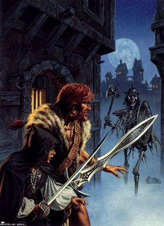 Fafhrd and Gray Mouser by Clyde Caldwell