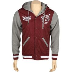 The Hundreds Reloaded Jacket (maroon) T12W103021MRN - $111.99