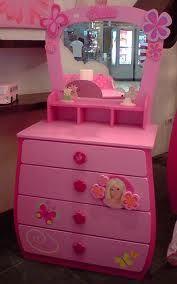 Lil girls cardboard dresser