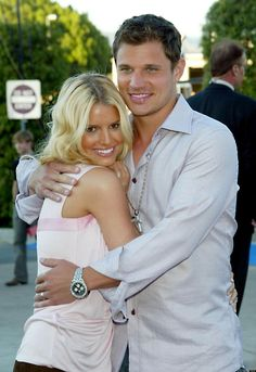 """Jessica Simpson And Nick Lachey!""""Jessica Simpson and Nick Lachey! She waited til marriage"""""""