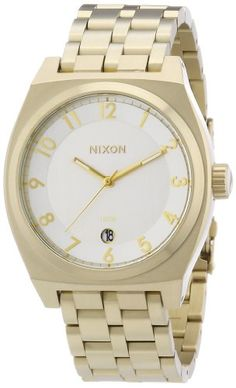 Nixon A325121900  Mens Watch Stainless Steel inox Color oro *** Click image for more details.