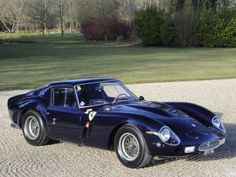 1963 Ferrari 250 GTO at the Windsor Castle Concours of Elegance