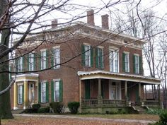 Hannah House, Indiana: As a stop on the Underground Railroad, the house was once a hiding place for slaves making their way to Canada. One night, a group of slaves were huddled together in the dirt floor cellar when one of them accidentally tipped over an oil lantern, sending the entire space into flames. Many of the slaves were trapped and died in there. In order to keep hidden the secret of his participation in the Underground Railroad, Alexander Hannah, owner of the house, had their…