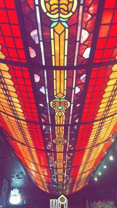#Colores #Cristales #Tintados #Iglesia #figuras #Arte #vintage