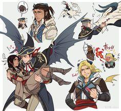 Assassin Dragons Creed