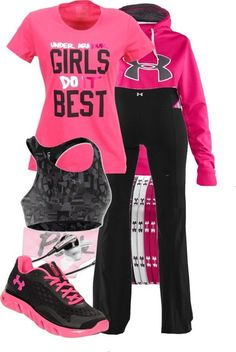 """UA"" by carrottopginger on Polyvore"