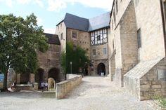 Burghof (Schloss Neuenburg) #freyburg #unstrut #momentaufnahme