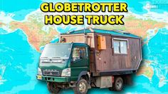John takes us on a tour of his homemade wooden House Truck, which he built with his wife and uses to travel the world. As a bonus, he also walks us around th...
