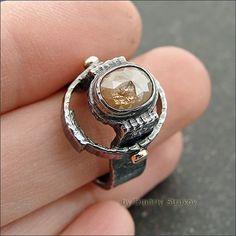 Перстень с алмазом - Strukova Elena - авторские украшения