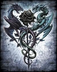 Dragon Tattoos Amy Brown Ideas Dragon Tattoos How To Train Your Ideas Dragon Tattoos Black Ideas Dark Fantasy Art, Dark Art, Fantasy Romance, Tatoo Henna, Dragon Artwork, Dragon Tattoo Designs, Celtic Dragon Tattoos, Mythical Creatures Art, Dragon Pictures
