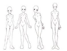 how i draw the female body by ~chickiedee on deviantART