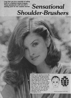 Scan from a vintage hair styling book- Set 'n Style by incurlers, via Flickr