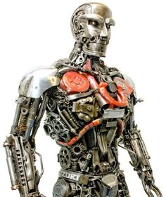 MotorCycleMan | Community Post: 10 Famous Sculptures Made Of Recycled Metals