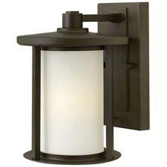 """Hinkley Hudson 9 3/4"""" High Bronze Outdoor Wall Light"""