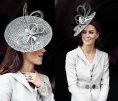 Kate in Katherine Hooker coat and dress with hat by Rachel Trevor-Morgan