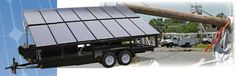 Generador solar móvil Mojave-3 de SolaRover, electricidad verde donde y cuando quieras.
