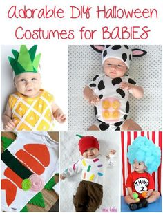 Adorable DIY Costume Ideas For Babies