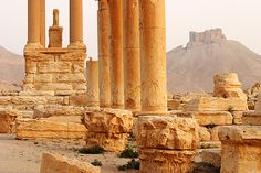 Syria, I visited this palace, it was quite nice, I wish it were still in the same condition so that it could bring back memories Palmyra Syria, Cradle Of Civilization, Aleppo, World View, Old City, Damascus, Capital City, Middle East, Monument Valley