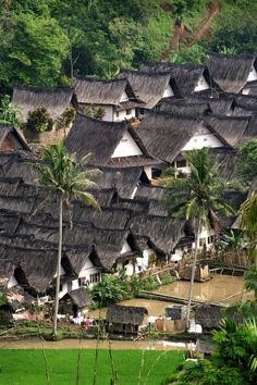 Kampung Naga, West Java, Indonesia.    A village with remaining strong traditional culture.