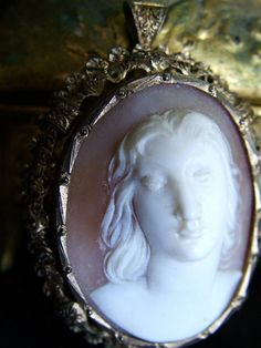 Antique Cameo Brooch or Necklace
