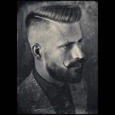 """""""Throwback thursday... Scumbag Boogie/Flattop crossover groomed with the red @reuzel pomade... Photo: @jelleinmyear Haircut: The Bloody Butcher #schorem…"""""""