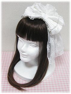 Angelic Pretty Lacy Ballerina Headbow