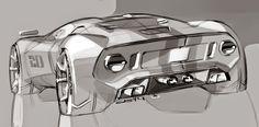 Ford GT sketch
