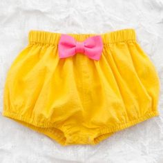 franky grow candy bloomer - yellow  http://www.thumbeline.com/girls-clothing/girls-clothing-bottoms/franky-grow-candy-bloomer-yellow.html