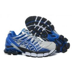 premium selection 6cdbf b0929 ASICS Gel Kinsei 4 Mens Blue Silver