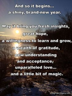 Happy New Year's Eve and New Year's Day Be safe healthy and happy!!