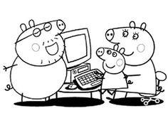 Desenhos da Peppa Pig para Colorir - Desenhos para Imprimir
