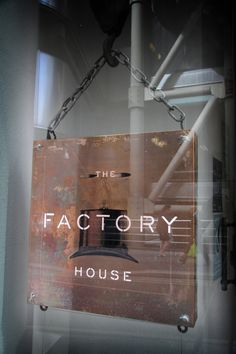 Factory House - Restaurant, bar and venue. 020 7929 4590