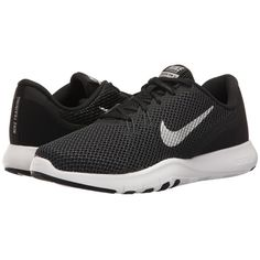 769068766c86 Nike Flex TR 7 (Black Metallic Silver Anthracite White) Women s Cross