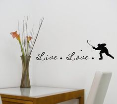 #2 Live Love Hockey 22x6 Inches Symbol Matte Black Vinyl Silhouette Keypad Track Pad Decal Window Wall Quotes Sayings Art Vinyl Decal SSC inc. http://www.amazon.com/dp/B00LEPFJXI/ref=cm_sw_r_pi_dp_gDHUtb1K151F8FHC