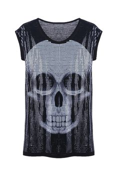 Sequin Skull Dress with bright leggings for a party?