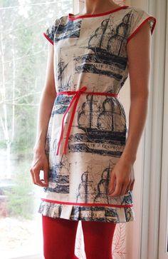 Nautical Port Elizabeth Dress free pattern