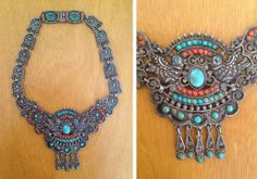 RARE Authentic 1940's Mexican Designer Sterling by butchwaxvintage, $2450.00