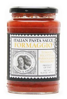 Cucina & Amore Formaggio Pasta Sauce 16.8 oz – BRIARWOOD