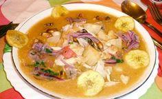 Receta encebollado de pescado - comida típica de Guayaquil