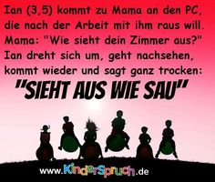 #Kindermund Die besten Sprüche aus 2015 von www.kinderspruch.com Platz 17