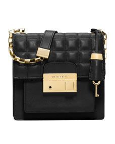 Michael Kors Small Gia Quilted Crossbody