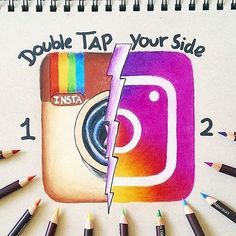 ❤Double tap your side!!❤ Great artwork by @falko_draws Follow us! Tag your friends#dailyart