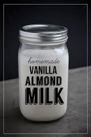 Mia's homemade vanilla milk