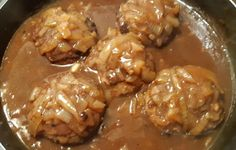 Recepies With Ground Beef, Beef Recepies, Hamburger Recipes, Meatball Recipes, Wan Tan, Cabbage Rolls, Food To Make, Steak, Yummy Food