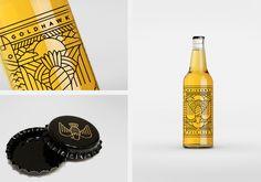 Goldhawk Ale — The Dieline | Packaging & Branding Design & Innovation News