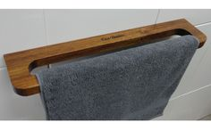 Our compact towel rail...