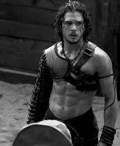 Ya antes de que salga la serie, yo estaba enamorada de Jon Snow